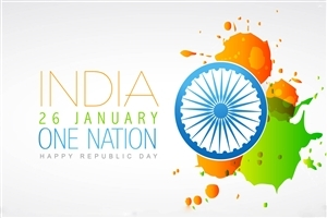 26 January Happy Republic Day One Nation Greetings HD Wallpapers